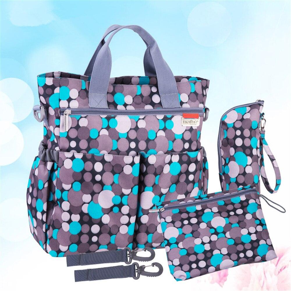 3 couleurs haute qualité fourre-tout bébé épaule couches sacs Durable Nappy sac momie mère bébé sac pour maman poussette ceinture/w10
