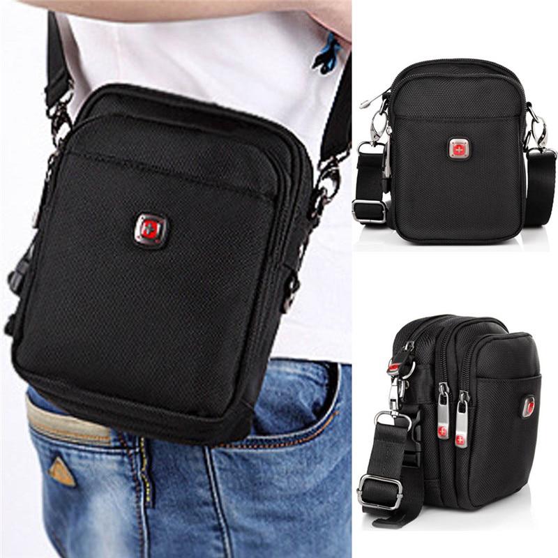 2018 Swiss Army Knife Men S Shoulder Bag Messenger Bags Multifunction Handbags Waist Packs Dual Use Package A001 On Aliexpress Alibaba Group