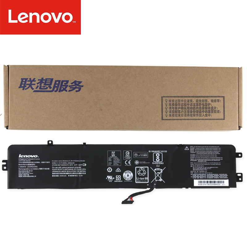 Original Laptop Battery For Lenovo Ideapad Xiaoxin 700 R720 Y700-14ISK Y520-15IKB 11.1V 45Wh 4050mAh L14M3P24 L14S3P24