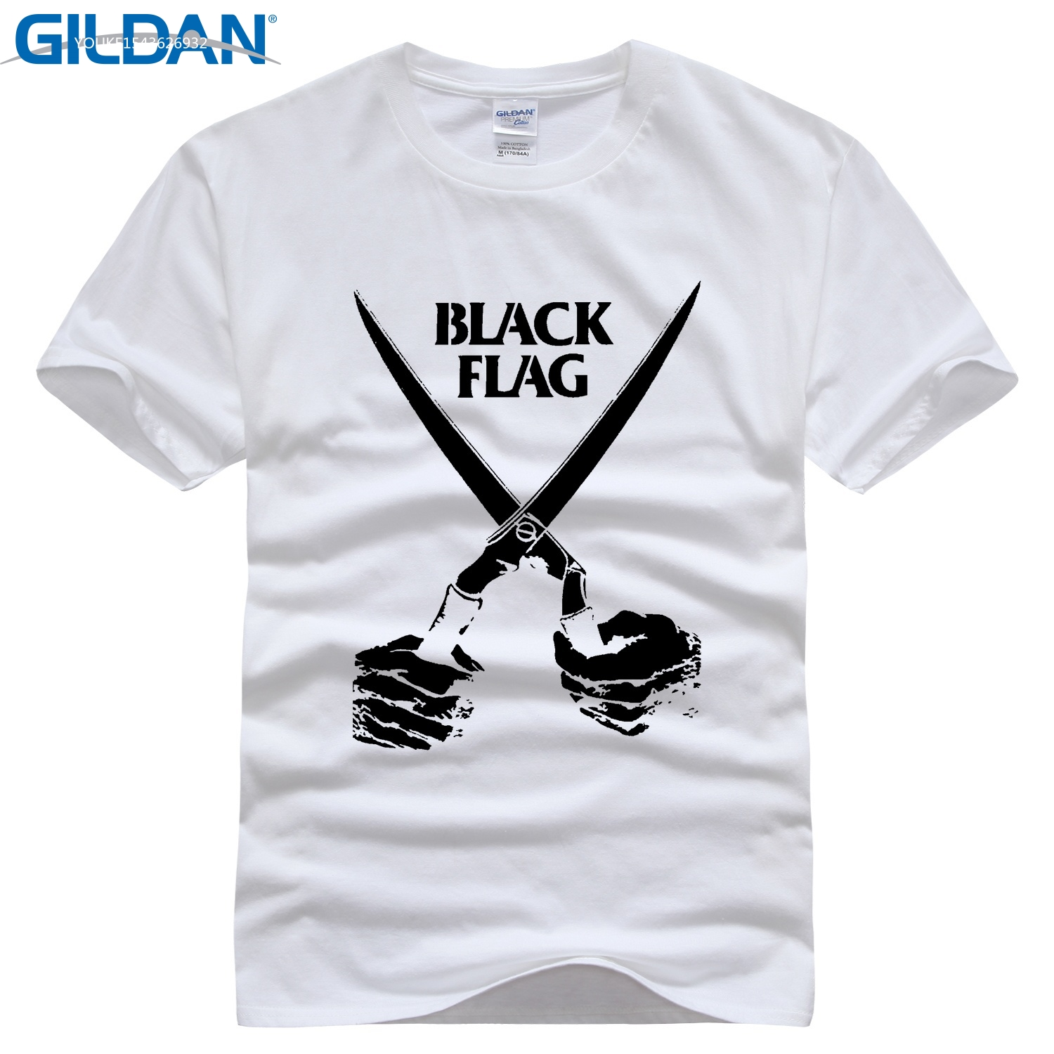 GILDAN T shirt Mens Twin Peaks Black Flag Tee Shirt Accept Customized 100% Cotton