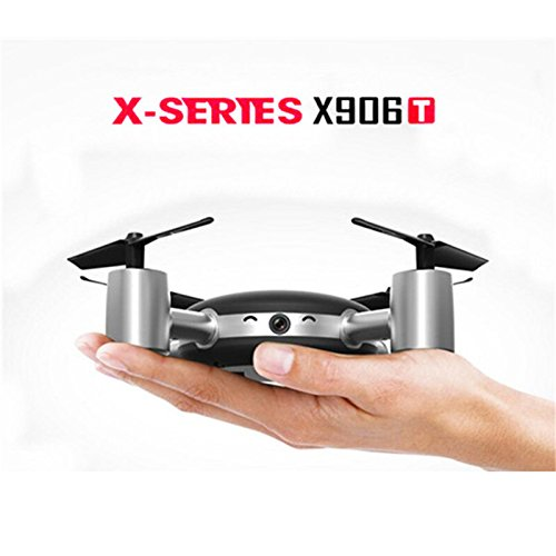 MJX X906T 5.8G FPV RC Drone with HD Camera Built In 2.31 Inches LCD Screen 3D Flips Wind Resistance RC Quadcopter