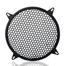 6/8/10/12 inch Loudspeaker Protective Mesh Cover Net Car Speakers Power Amplifier Decorative Circle Unit Net Sound Box Grille Z4