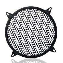6/8/10/12 inch Luidspreker Beschermende Mesh Cover Netto Auto Luidsprekers Eindversterker Decoratieve Cirkel Unit netto Sound Box Grille Z4