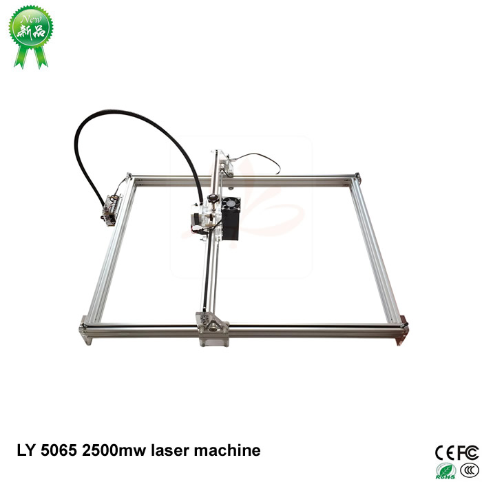 2017 IC Marking Printer LY 5065 2500mw Blue Violet Laser Engraving Machine For Wood Plastic Bamboo