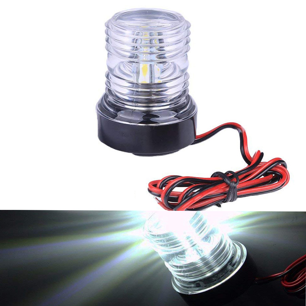 Boat Parts & Accessories 24v Marine Boat Bulb Light 25w Navigation Light Signal Lamp All Round 360 Degree Night Lighting Atv,rv,boat & Other Vehicle