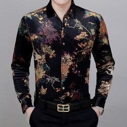 KUYOMENS Men Shirts Long Sleeve Cotton Cotton Dress Shirt Man Business Fashion Chemise Masculina Camisa Fashion Vetement Hom