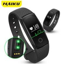 Bande à puce Smartband Bracelet Moniteur de Fréquence Cardiaque Fitness Flex Bracelet pour Android iOS PK xiomi mi Bande 2 fitbits smart ID107
