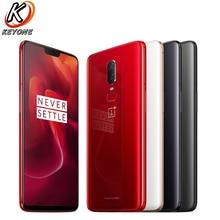 Фирменная Новинка Oneplus 6 LTE мобильный телефон 6,28 »8 GB Оперативная память 128 GB Встроенная память Snapdragon 845 Android 8,1 Dual сзади Camrea 20 + 16 Мп Водонепроницаемый NFC