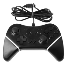 High Quality Brand Black Wired Pro Controller GamePad for Nintendo Switch Console and PC Computer
