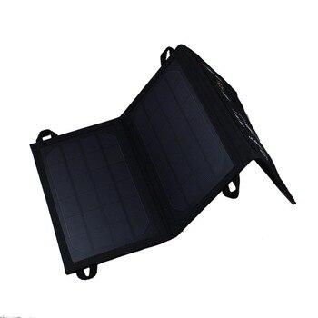 7 W Наружное портативное солнечное зарядное устройство для сотового телефона портативное складное солнечное зарядное устройство для iphone 6s