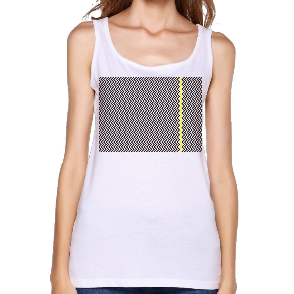 2017 Coco Coir <font><b>Chevron</b></font> Pattern <font><b>Print</b></font> Women Tanks Summer <font><b>sleeveless</b></font> Fashion Unique Customized