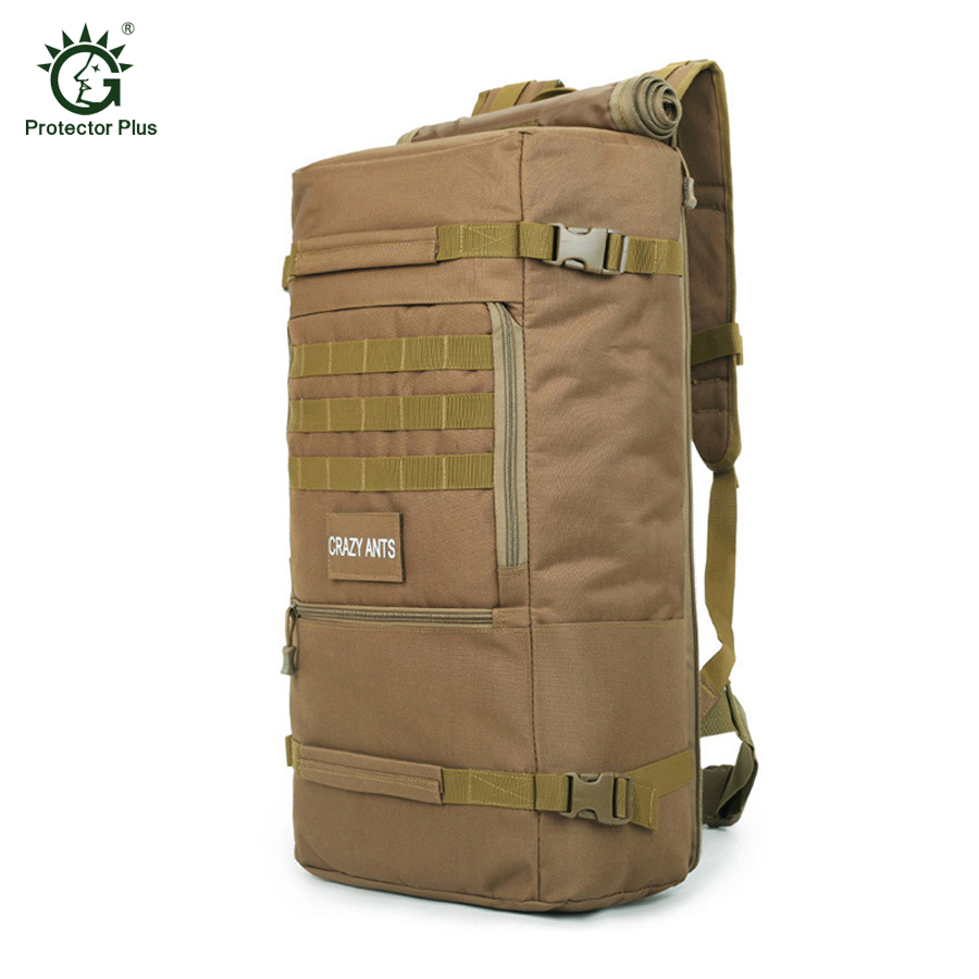 Tactical Military Backpack Male 60 L Water-proof Oxford 600D Rucksack High Quality Multi-function Large Capacity Travel Bags
