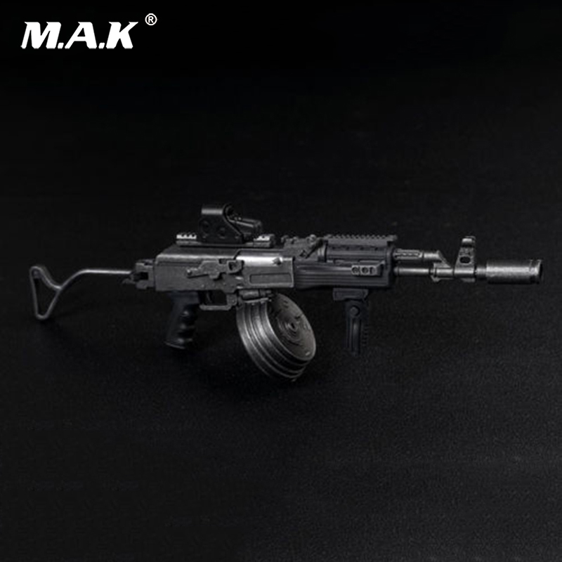 AS030 Black 1/6 AK47 AKM Tactical Weapon Rifle Gun Model Toys Fit 12 Soldier Action Figure Dolls Accessories Collections 2017 new 1 6 1 6 12 action figures g43 sinper rifle tactical gun christmas gift free shipping boy toy birthday present