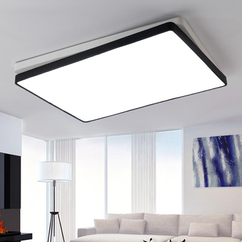 Modern Office Lighting Led Ceiling Light Design Minimalist Living Room Bedroom Remote Control Lamps Zh Bg28