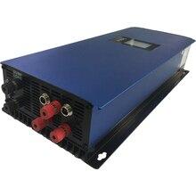 2000 Вт MPPT чистая Синусоидальная сетка галстук инвертор с ЖК-дисплеем и Дамп нагрузки резистор для 3 фазы переменного тока выход ветряные турбины