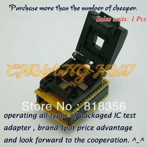 WL PL32 U1 Adapter for Wellon Programmer Adapter PLCC32 Adapter IC Test Socket/IC Socket
