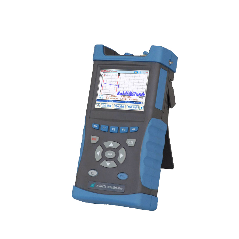 Handheld OTDR Optical Time Domain Reflectometer AV6416 1310/1550nm 28/26dB with VFL Fiber Optic OTDR BY DHL