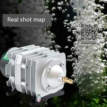 220 فولت Hailea الخارجية عالية الطاقة التيار المتناوب الكهرومغناطيسية مضخة هواء بركة السمك مضخة أكسجين ضاغط الهواء مهوية مضخة ACO 208 308 318