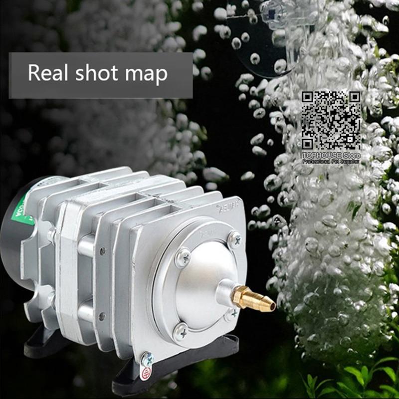 220V Hailea External High Power AC Electromagnetic Air Pump Fish Pond Oxygen Pump Compressor Air Aerator Pump ACO 208 308 318