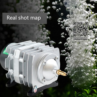 220V Hailea External High Power AC Electromagnetic Air Pump Fish Pond Oxygen Pump Compressor Air Aerator Pump ACO 208 308 318