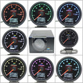 62mm 7 Color in 1 Racing Gauge GReddi Multi D/A LCD Digital Display EXT Temp EGT Gauge Car Gauge 2.5 Inch