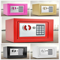 Safe home small safe fingerprint password mini bed head all steel anti theft safe invisible