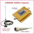 UMTS GSM CDMA LTE 70dB 850 MHz 2G 3G 4G Móvel Sem Fio Repetidor de Sinal de telefone Impulsionador Repetidor de Sinal Amplificador + Cabo + Antena