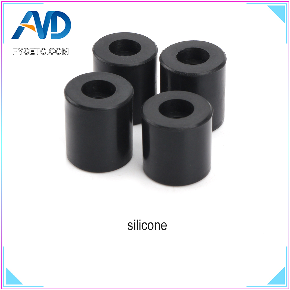 High Temperature 3D Printer Parts Silicone Solid Spacer Hot Bed Leveling Column 3pcs Long + 1PC Short For CR-10/ CR10S Ender-3