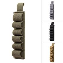 Tactical Hunting Hook Loop 6 Rounds Shell Holder Shotshell Insert Card Strip With Adhesive Back For 12 Gauge(China)