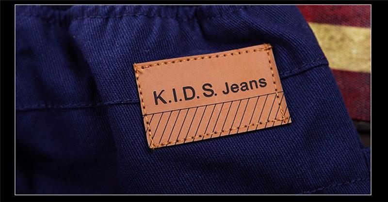 HTB1Gg7TOVXXXXXzapXXq6xXFXXXB - boys pants kids jeans 2018 casual Spring Solid Cotton Mid Elastic Waist Pants for Boy jeans kids Clothing Children Trousers p023