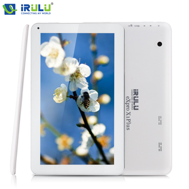 Irulu expro x1plus 10.1 ''android 5.1 tablet quad core 1 gb ram 8 gb rom tablet pc cámara dual supoort bluetooth wifi