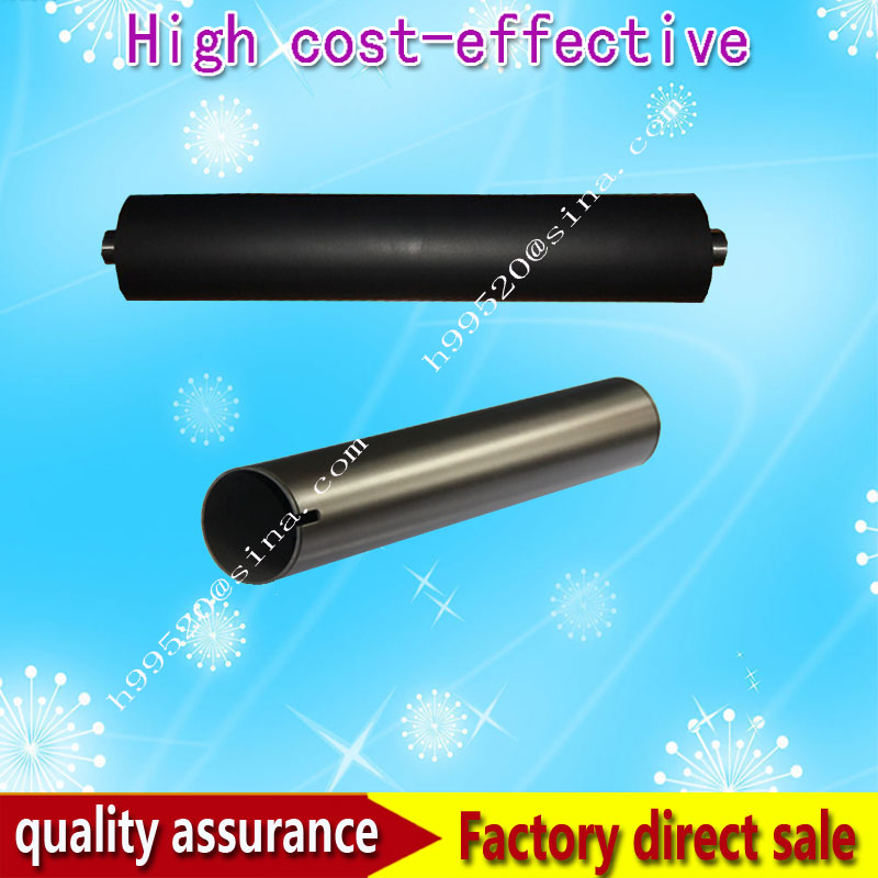 Long life E550 upper roller and pressure roller For Toshiba E-STUDIO 55/65/80/DP4580/6570/8070/550/650 high quality new lower fuser roller compatible for toshiba e550 650 810 550 720 523 850 pressure roller