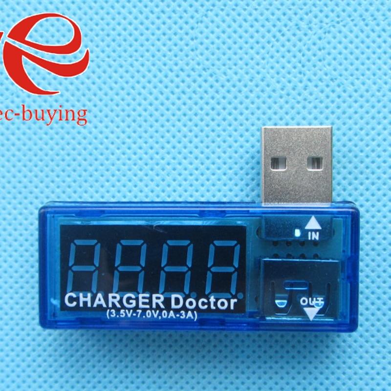 Digital USB Mobile Power Charging Current Voltage Tester Meter Mini USB Charger Doctor Voltmeter Ammeter