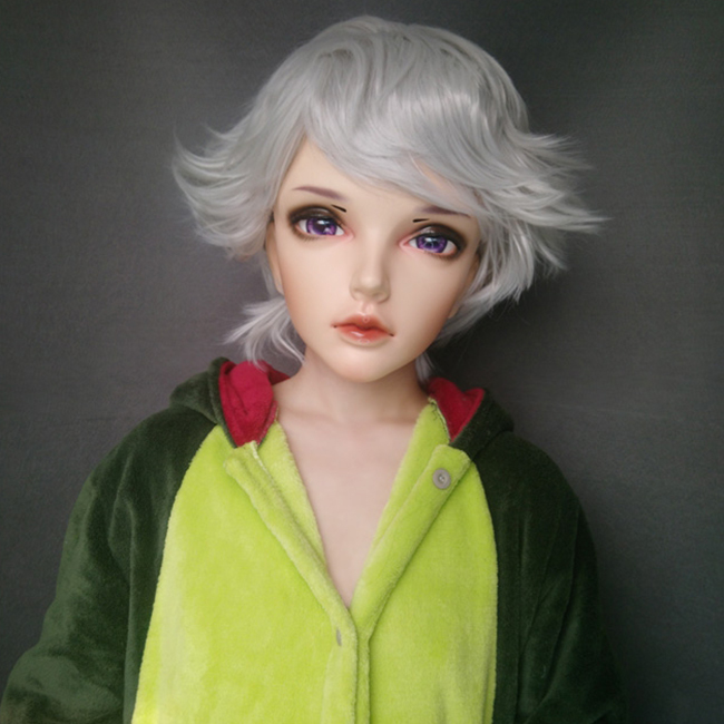 Costumes & Accessories female Sweet Girl Resin Half Head Kigurumi Mask With Bjd Eyes Cosplay Japanese Anime Role Lolita Mask Crossdress Doll Kids Costumes & Accessories ying-04