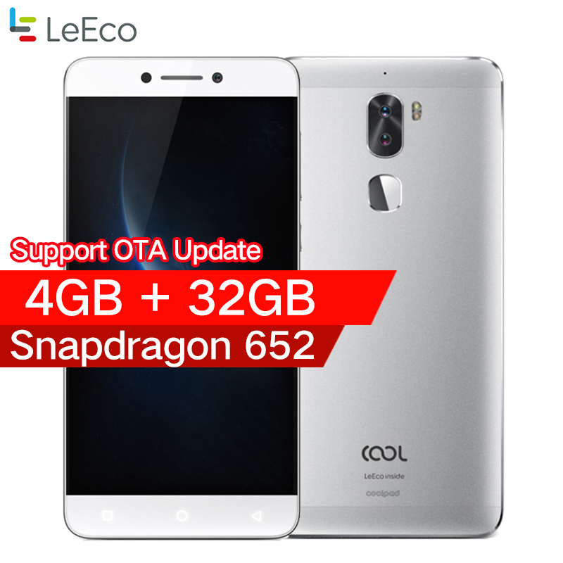 Original leeco cool 1 Coolpad letv cool1 4G LTE Mobile phone Octa Core Android 6.0 5.5