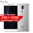 "Original leeco cool 1 Coolpad letv cool1 4G LTE Mobile phone Octa Core Android 6.0 5.5"" FHD 3G / 4G 32G Dual Back Cameras"