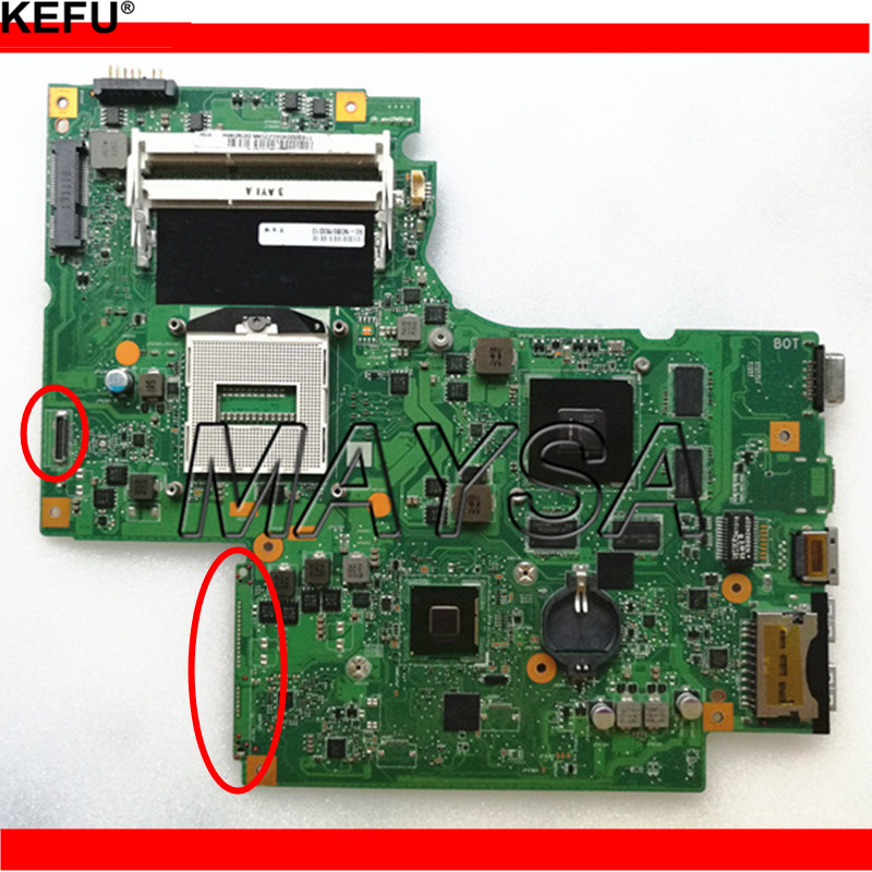 Carte mère d'ordinateur portable d'origine fit pour Lenovo Z710 G710 DUMBO2 REV2.1 PGA947 DDR3 GT745M 100% Entièrement testé