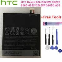 100% HTC Original BOPKX100 de la batería para HTC Desire 626 D626W D626T 626G 626S D262W D262D A32 teléfono móvil Bateria + herramientas libres