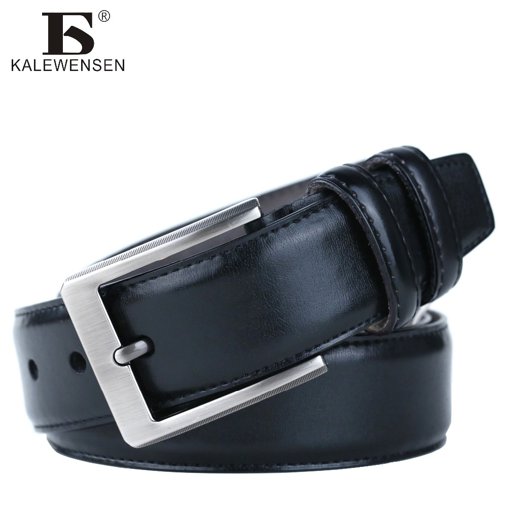 High quality cowskin genuine leather belts
