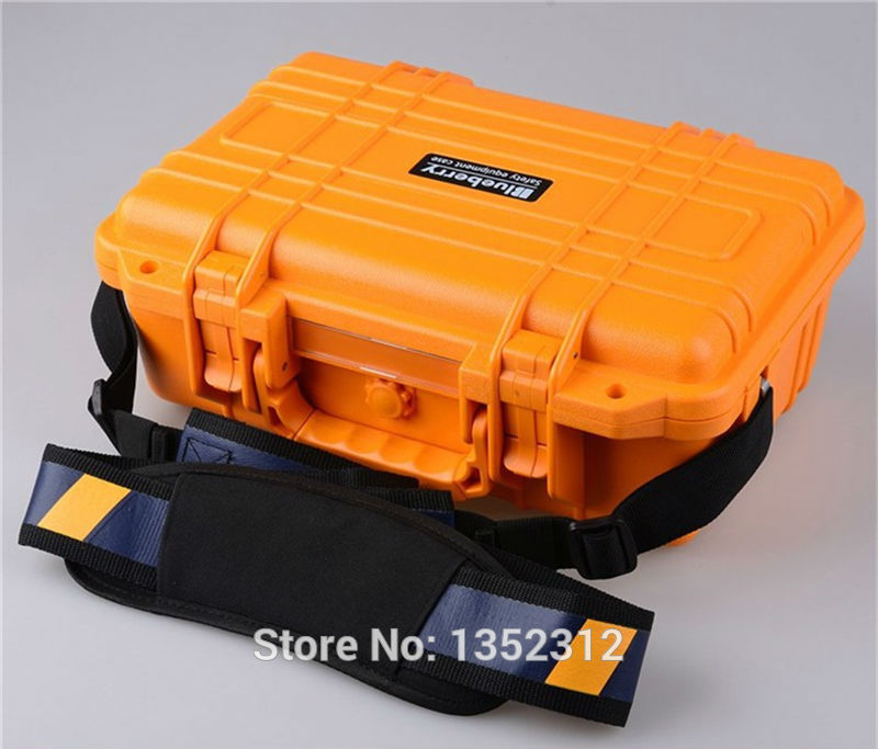 341*249*130mm plastic tool box waterproof tool case IP68 security seal pistol case instrument case shockproof protection case clatronic rg 3518