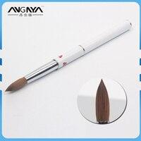 1Pcs New Superior 100 Kolinsky Sable Brush 16 18 20 Acrylic Brushes Nail UV Gel Salon