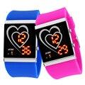 Moda homem e mulher relógio LED relógios digitais à prova d' água Relógio Multifuncional Relógio De Pulso Relogio masculino Montre Femme 1004