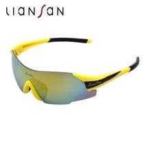 LianSan 2017 Fashion Polarized Glasses Women Men Sunglasses Sport Protective Goggles Professional Eyewear LS7889