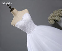ZJ9022 Corset lace Beads strapless Sweetheart Lace White 2019 Wedding Dresses for brides plus size maxi formal