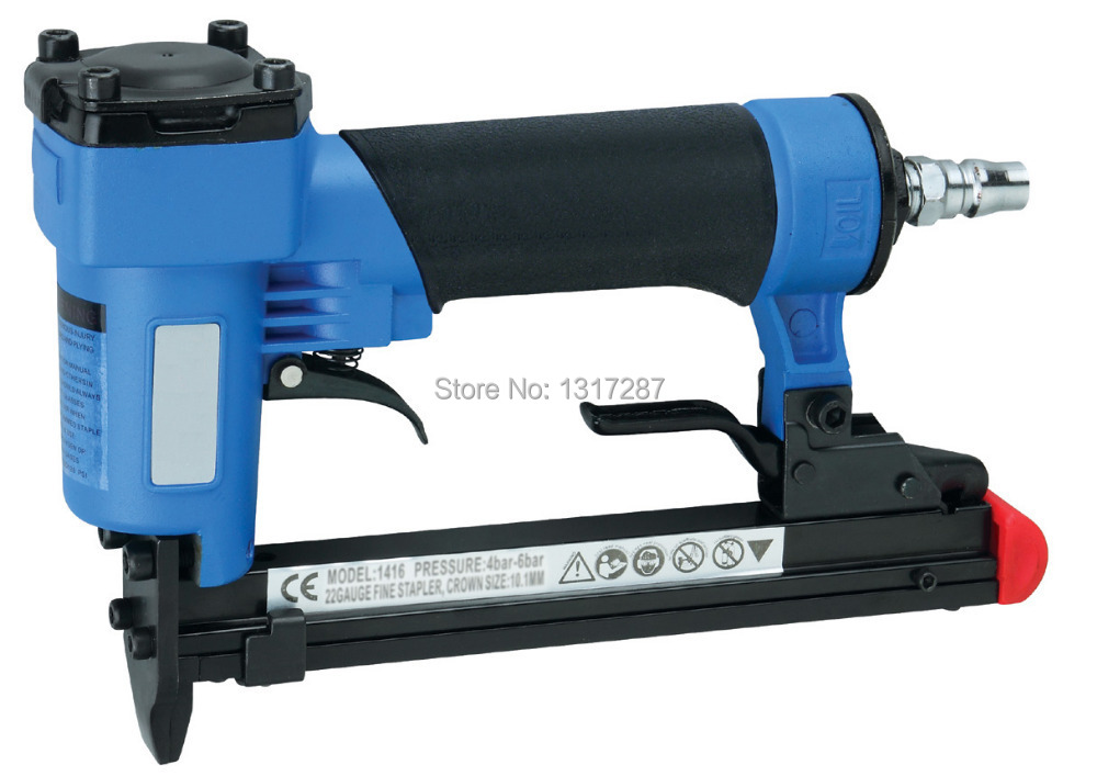 air stapler FS1416-A 1/2 pneumatic fine crown stapler, U style nail, length of nail:6-16mm 4-7BAR 60-110psi тумба под тв 2