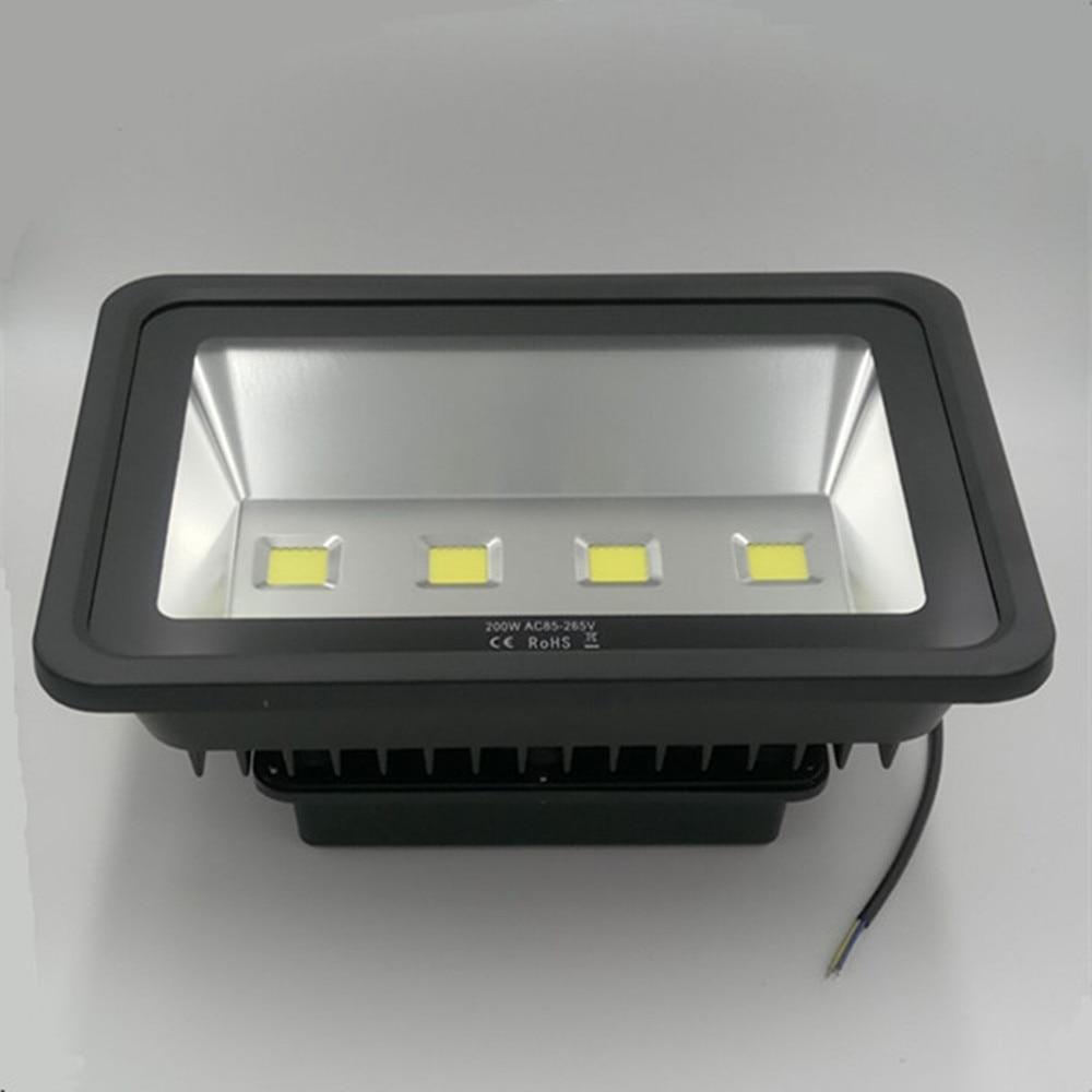 Led FloodLight Cast light led chip light source 200W IP65 Waterproof led Spotlight Outdoor Floodlights Lamp ultrathin ultrathin led flood light 200w ac85 265v waterproof ip65 floodlight spotlight outdoor lighting free shipping