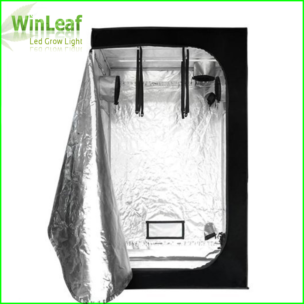 Grow Tent 120 with Light for Indoor Hydroponics Greenhouse Plants Lighting 600D Grow Tent Indoor For plant grow lights hot sale 12w led plant grow lamp high bright appliable for indoor planting grow box grow tent lighting long lifespan