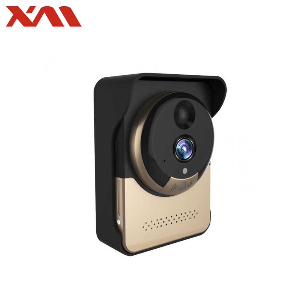 Wireless doorbell with camera Full HD 1080P Video Intercom with Battery Fish eye 360 Panoramic mini Cam wifi 2.0mp ring bell
