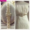XW58  Free shipping Factory hot sell  bridal belts with crystals wedding belt crystal