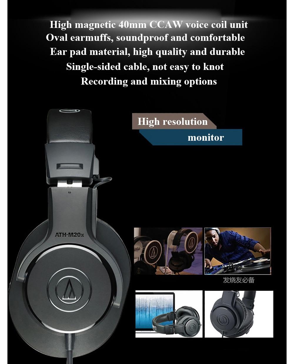 Audio-Technica ATH-M20x 6